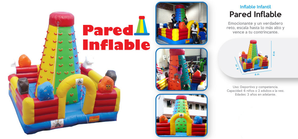 Pared Inflable