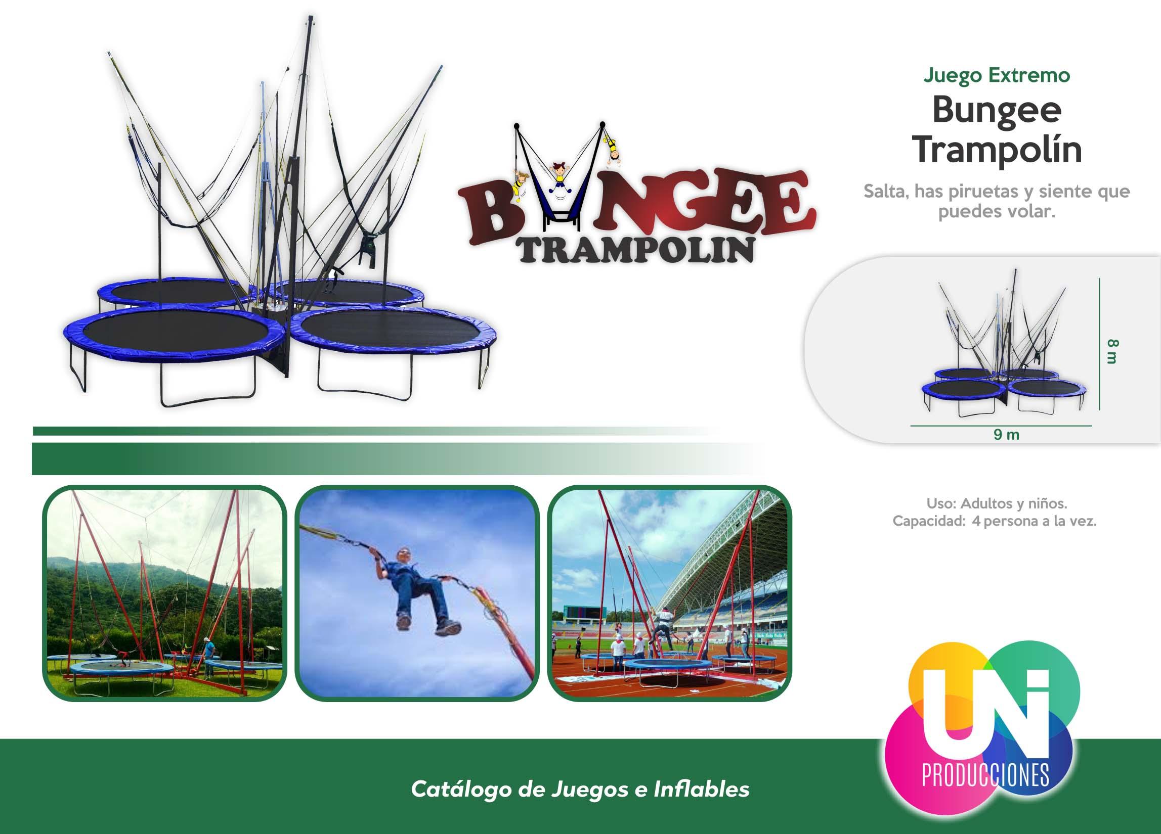 Bungee Trampolín