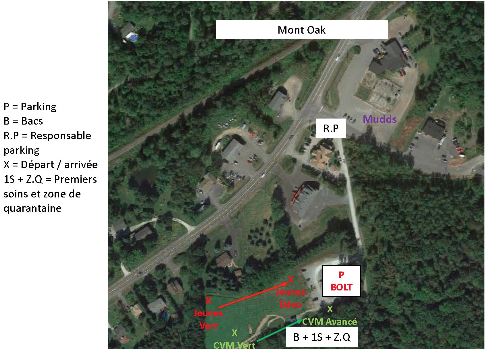 Plan Mont Oak