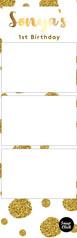 B Strip: Gold Dots
