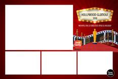 C Postcard: Hollywood Glamour