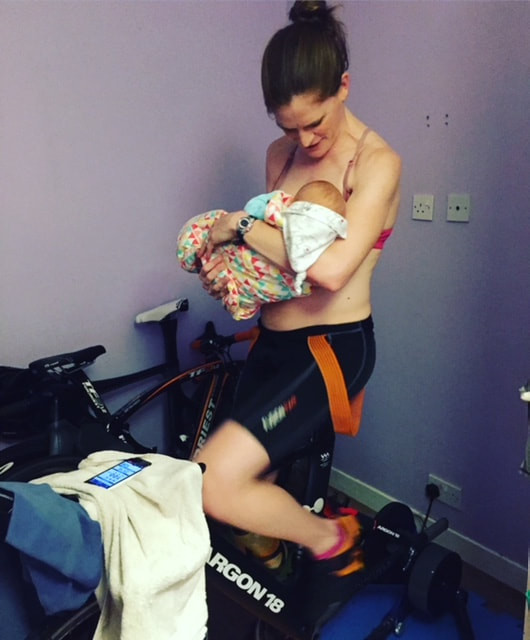 Multitasking with breastfeeding and cycling