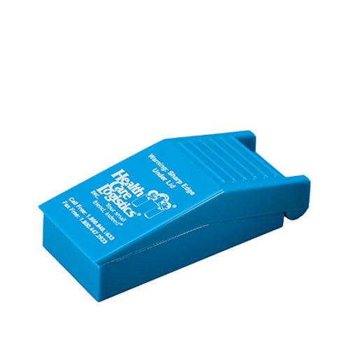 Tabletsnijder Blauw incl. bewaarvakjes