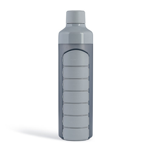 YOS Bottle - Weekly -Cool Grey