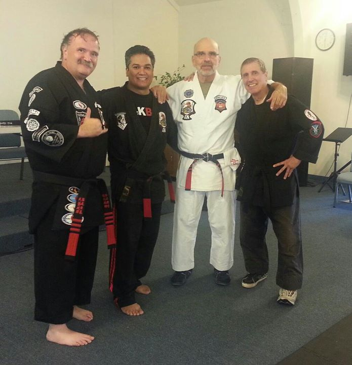 Facebook - Great work out at the kenpo ohana! Thank you for sharing your knowled