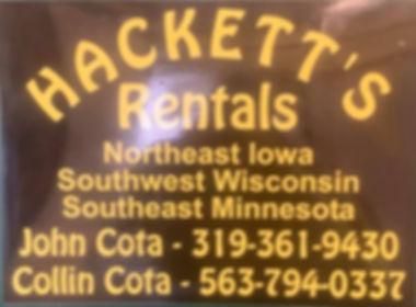 Hackett's Porta Potty Rentals & Service