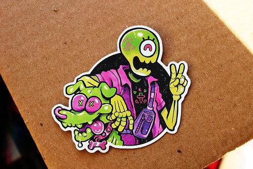 Bonedaddy & Bonedoggy Sticker