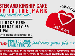 Foster and Kinship Care Day in the Park