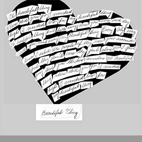 1 album track - Beautiful Thing