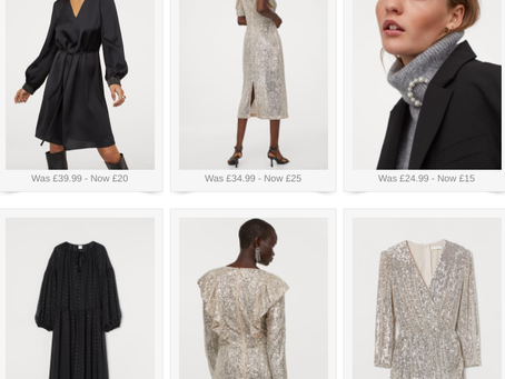Sparkle with the H&M sale!