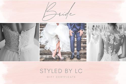 'Bride' Gift Certificate
