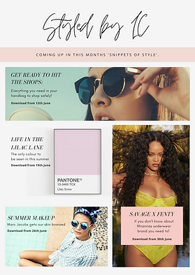Copy of Pink Simple Fashion Newsletter (
