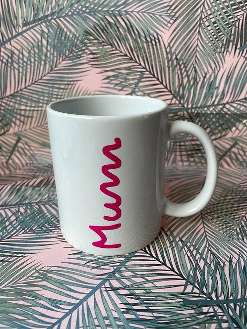 'Island  Style' Personalised White Mug
