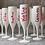 Thumbnail: 'Island  Style' Bride to Be Personalised White Champagne Glass