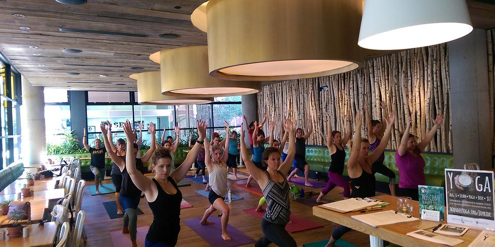 Wander Yoga at True Food Kitchen - Yoga + Juice