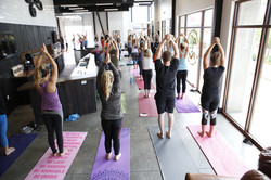 Wander Yoga at Bruz Beers
