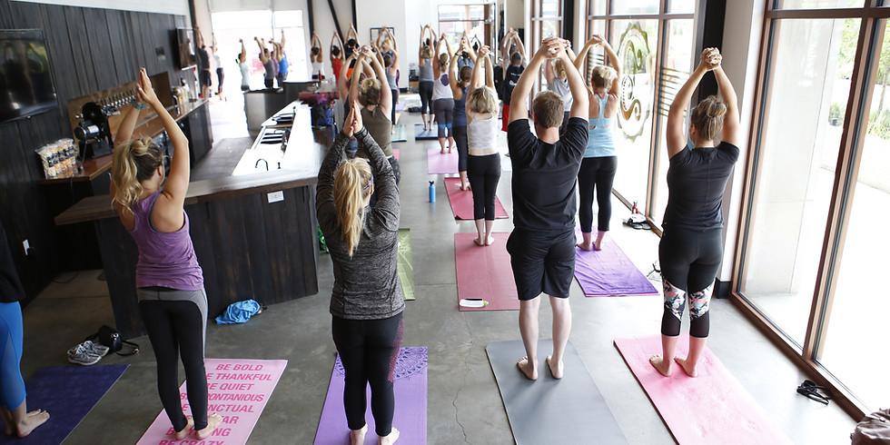 Wander Yoga at Bruz Beers - 3 Year Anniversary Celebration