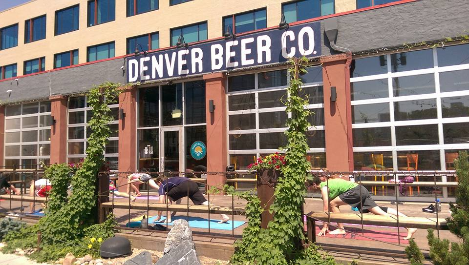 Wander Yoga at Denver Beer Company