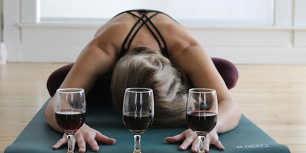 SOLD OUT! Wander Yoga at Infinite Monkey Theorem Winery - Yoga + Wine