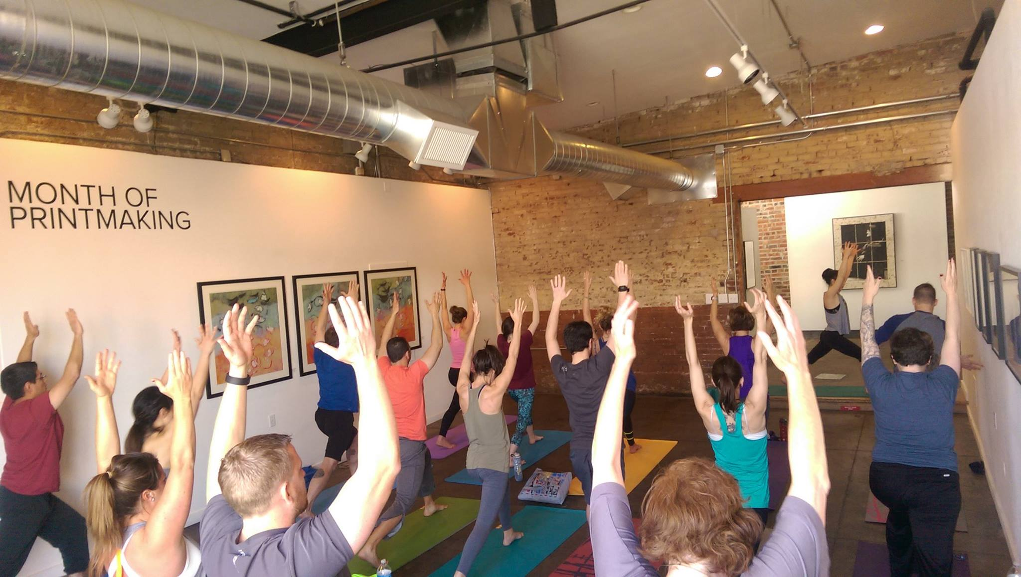 Wander Yoga at Art Network Gallery