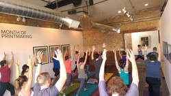 Wander Yoga at Art Network Gallery