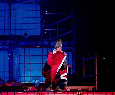 Stefan Rokebrand De Kleine Prins Koning Antoine de Saint-Exupéry schouwburg schiedam de stokerij jeugdtheater