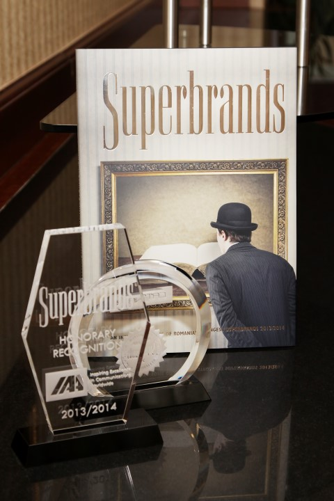 Superbrands 2013-2014 Tribute Event