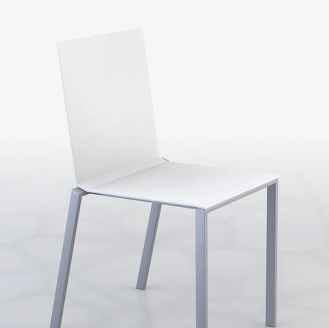 Rendered image of the standard chair