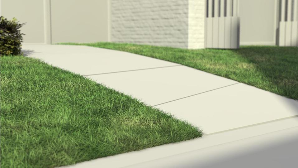 3D grass testing