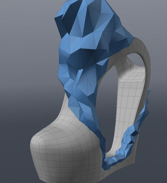 3D model screenshot in modo501