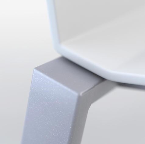 Render detail of the back support