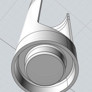 Bottom of the 3D model in MOIv2