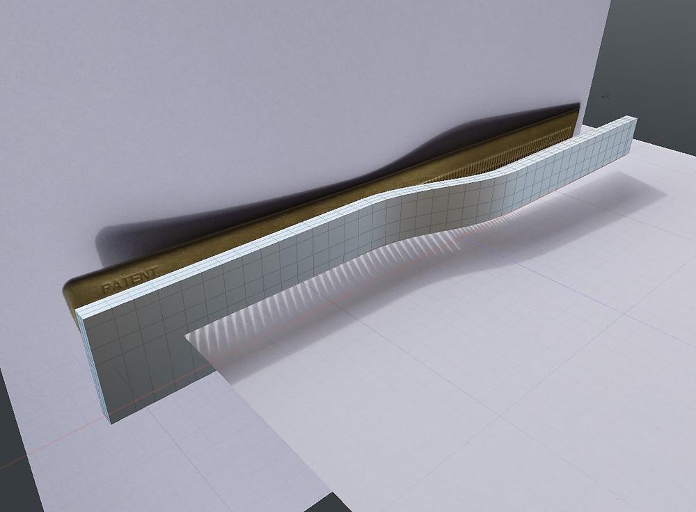 Base shape comb