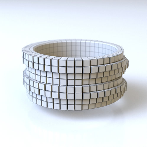 Pixel Ring C 3D model