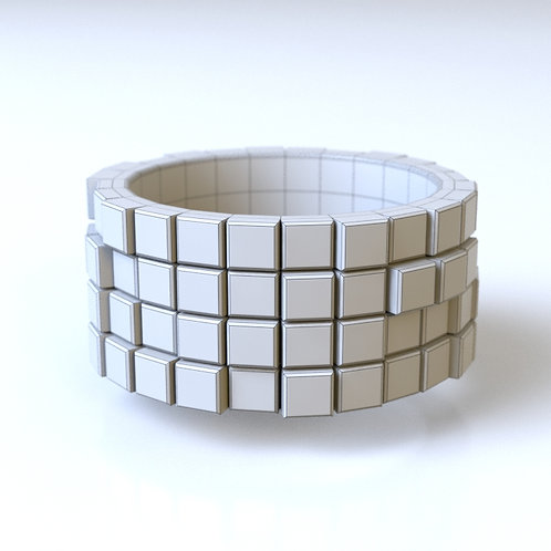 Pixel Ring A 3D model