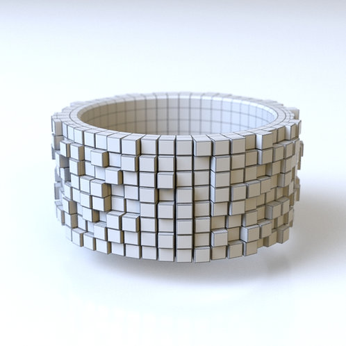 Pixel Ring D 3D model