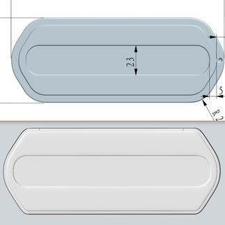 Technical drawings vs 3D model