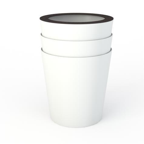 Big stacked pots