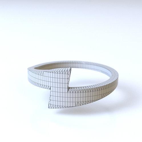 Circle Lightning Ring 3D model