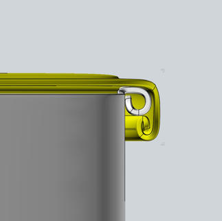Detail lid rail