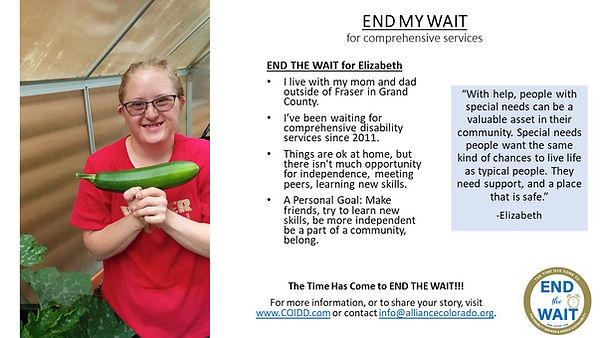 END MY WAIT Elizabeth Lynn from Grand Co