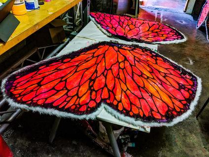 UV Butterfly - Progress
