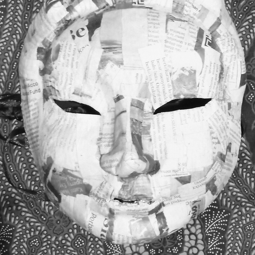 Movement, Poetry, Masks, Installation | Darah Rouge, Aji