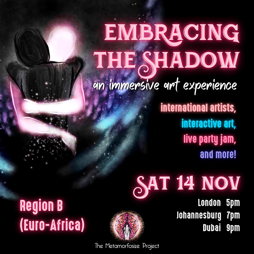 Embracing the Shadow: An Immersive Art Experience - Region B (Euro-Africa)