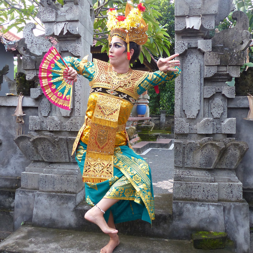 Balinese Dance Class for Inner Empowerment I with Allegra (Euro-Asia)