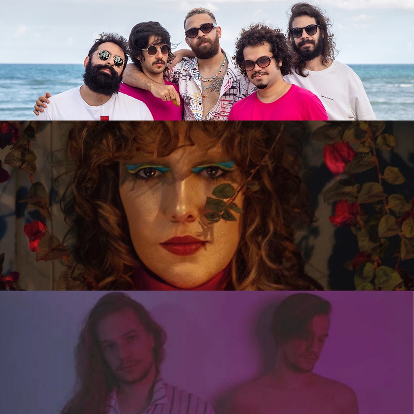 Brazilian New Music Night   CAIMANS / BULE / SANDYALÊ