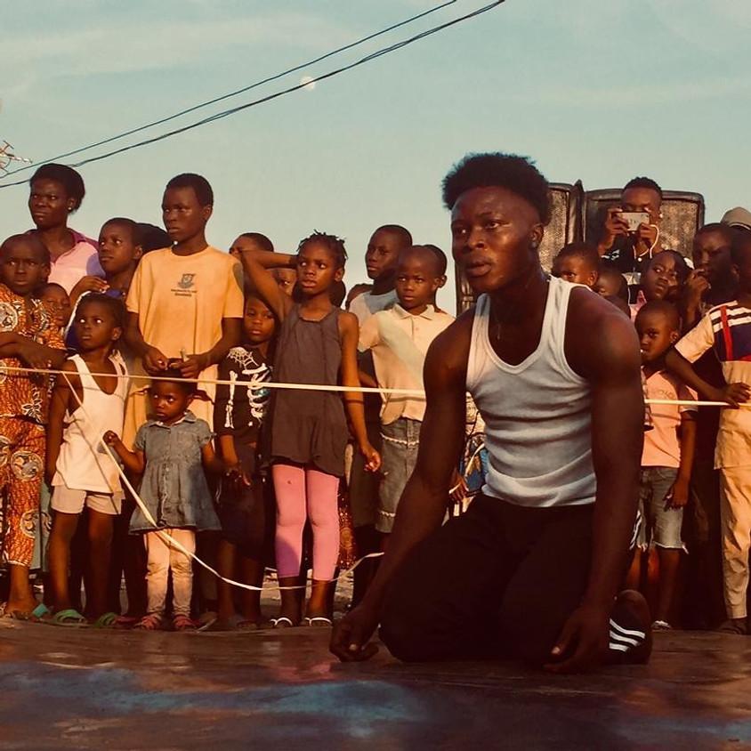 Show & Jam #1 Closing: African Hip Hop Dance - Commune with the Sky People   Sanusi Deji