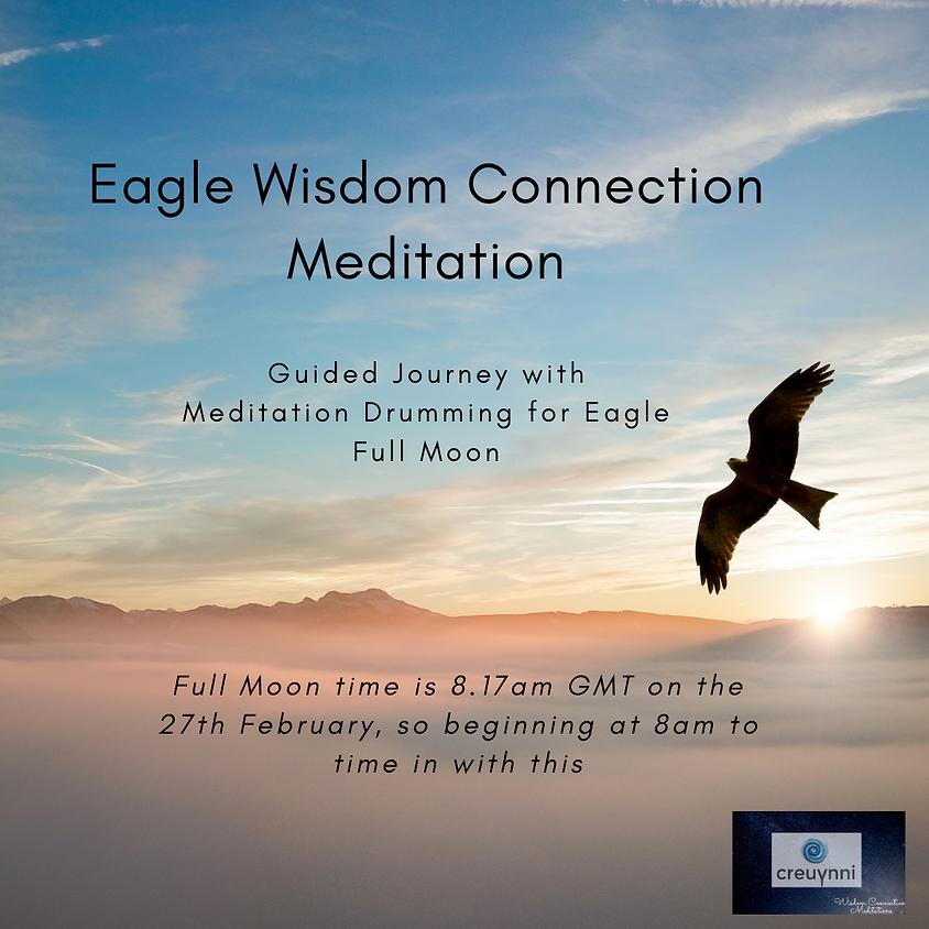 Meditation for Eagle Moon - Wisdom & Vision of the Eagle | Katherine Creuynni