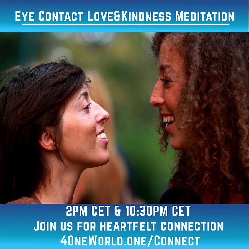 Eye Contact Love & Kindness Meditation | 4OneWorld