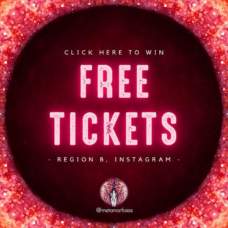 Free Tickets Instagram